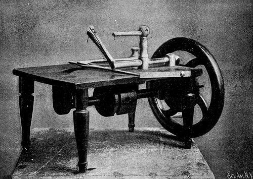 Who Invented The Sewing Machine A Walk Through History Sew Guide Best How Was The First Sewing Machine Made