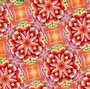 boho fabric pattern