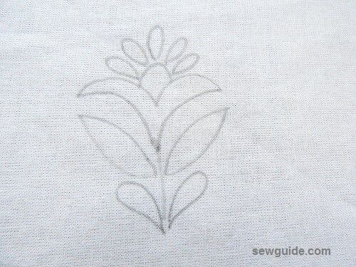 Chain Stitch Embroidery : 5 commonly used motifs