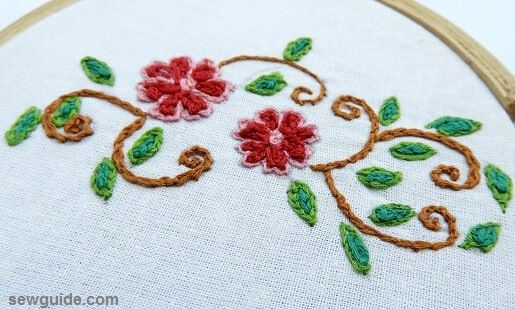 chain stitch embroidery designs