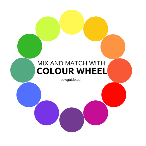 colour wheel chart for clothes