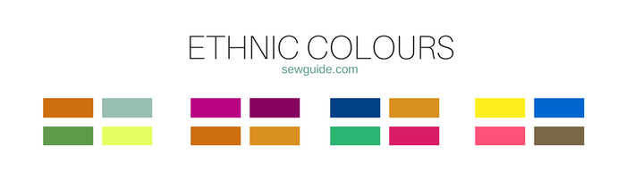 colour combinations and types