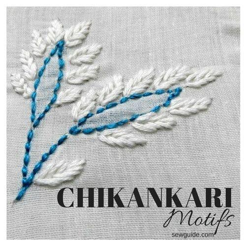 chikankari motif