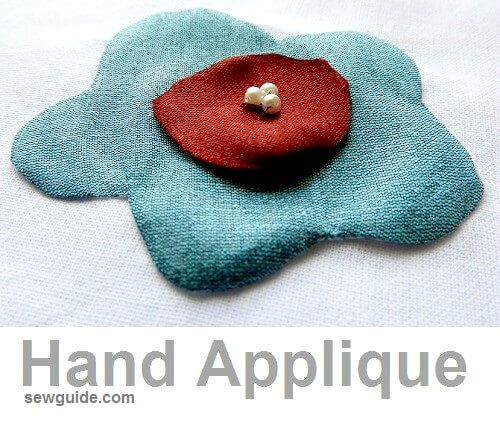 how to do hand applique