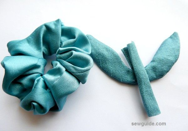 making scrunchies
