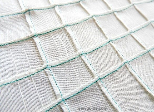 tucks in sewing
