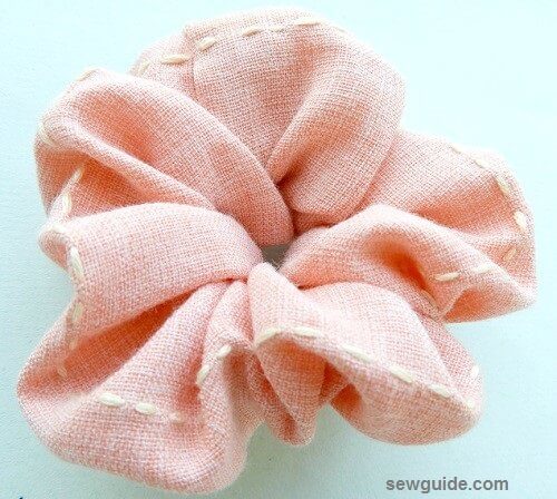 scrunchy diy tutorial