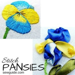 diy pansies