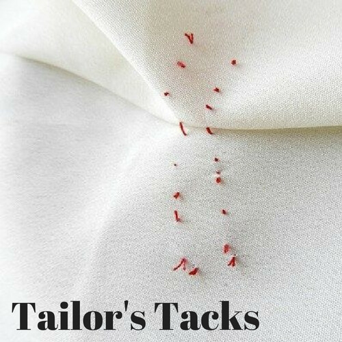 tailors tacks