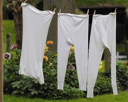 white clothes bleaching