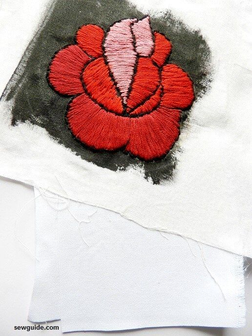 Best way to Make an Embroidered Fabric Patch