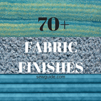 fabric finishes list