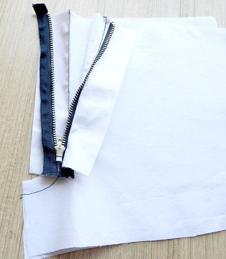 pant zipper sewing tutorial