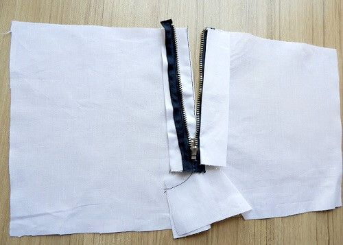 Sewing Pants Zipper : An Easy way to zip the fly