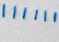 different types of hand embroidery stitches