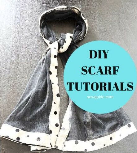 diy scarf tutorials