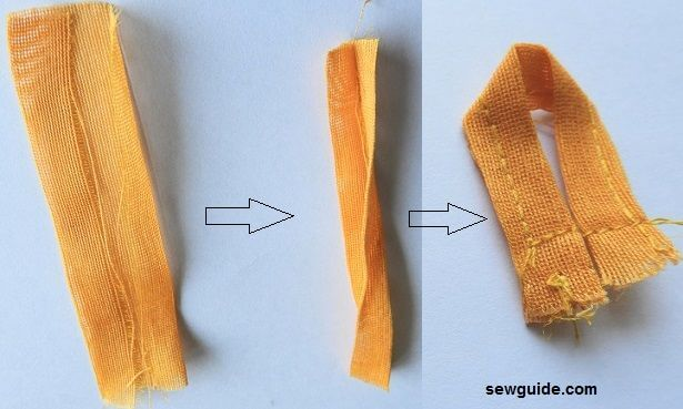 Button loop : 3 Different ways to make and sew them easily