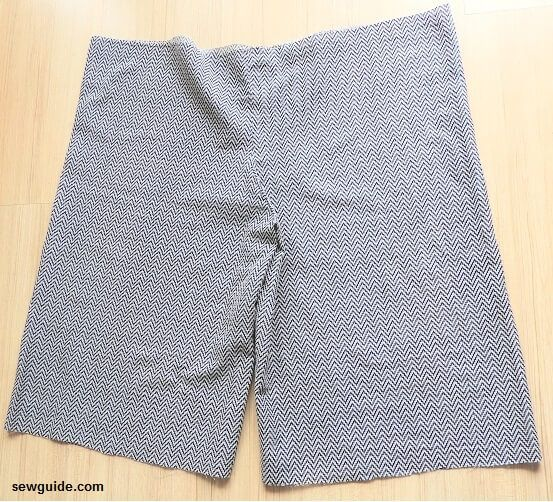 divided skirt pattern