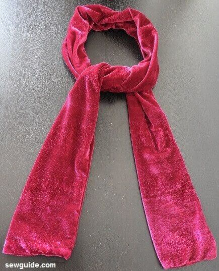 diy scarf tutorial