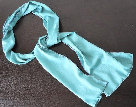 scarf making diy tutorial