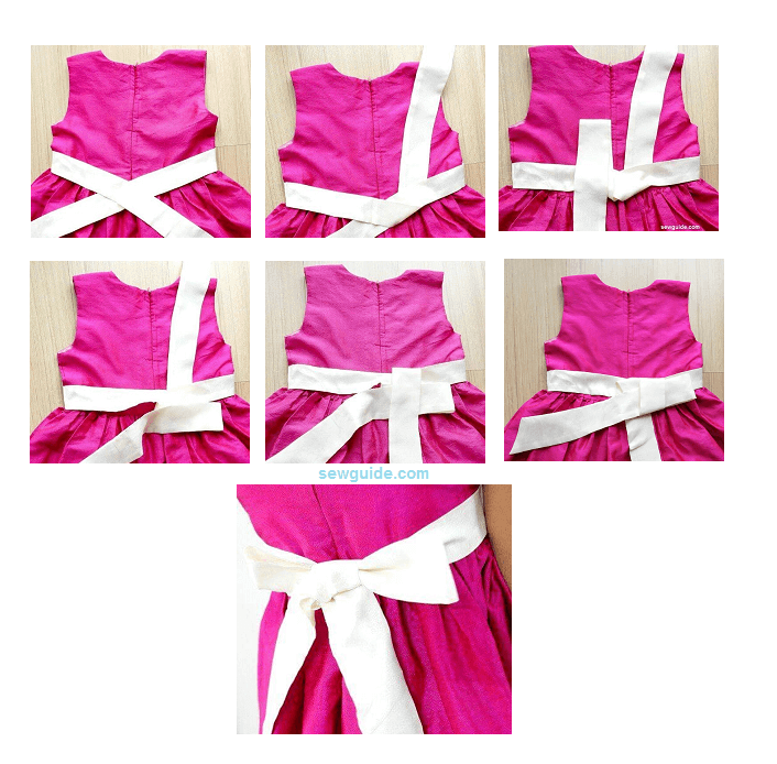how to tie a sash bow