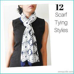 scarf tying styles