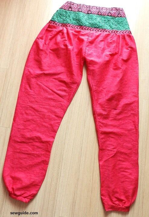 Stylish {HAREM PANTS} - DIY pattern to sew them