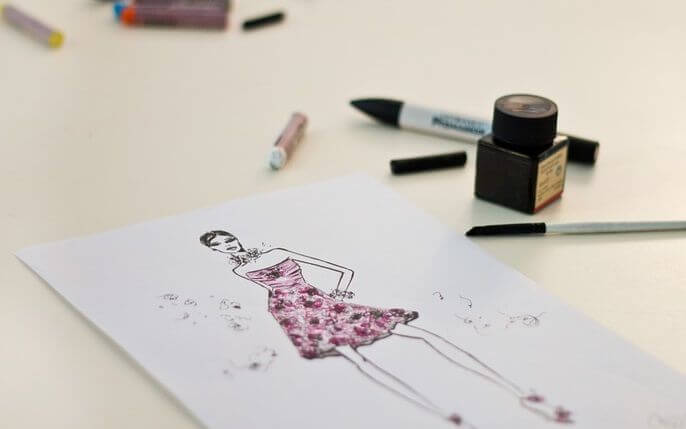 Fashion Illustration 6 Types Of Fashion Drawings You Need For Designing Clothes Sew Guide