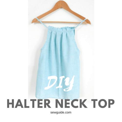 halterneck top diy pattern