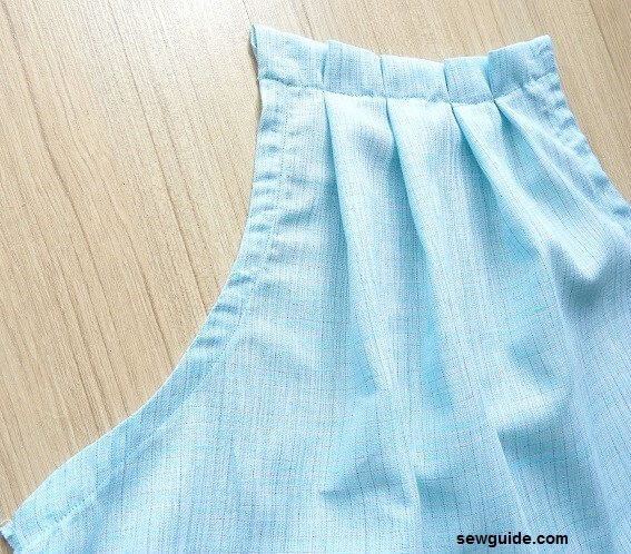 sew a halter neck top