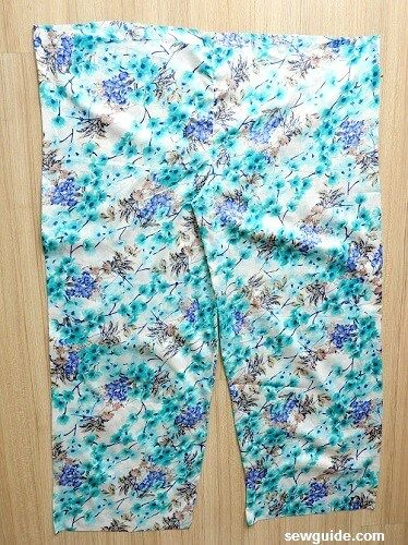 plazzo pants sewing