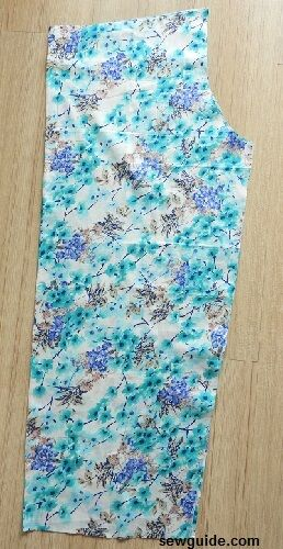 palazzo pants sewing pattern