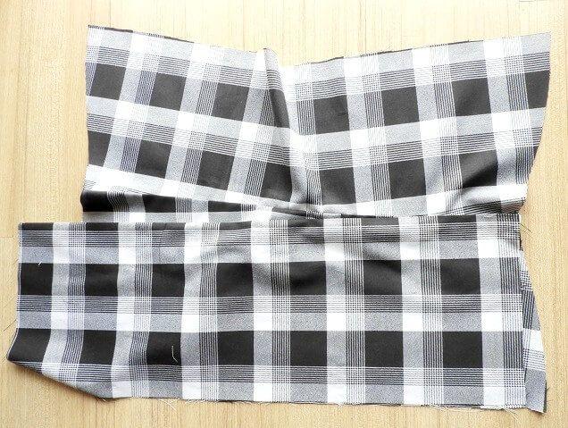 sew box pleated skirt