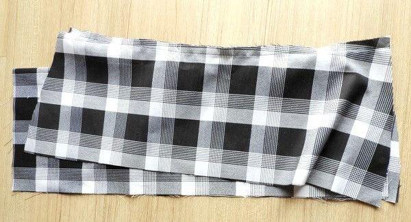make pleated skirt
