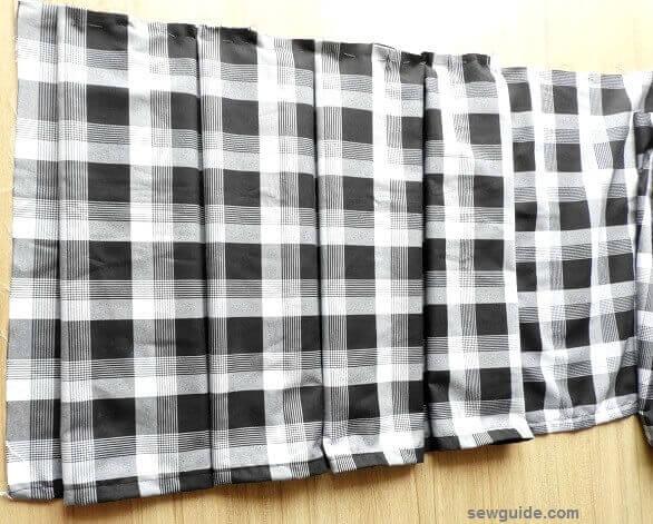 pleated skirt diy sewing pattern