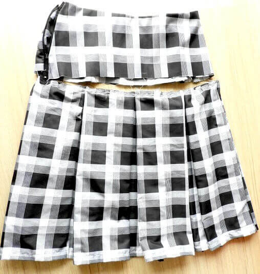 Pleated Skirt - Sewing Pattern & Tutorial