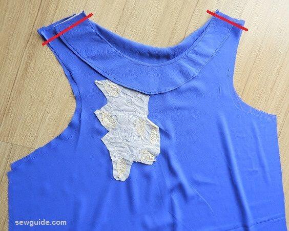 sew a line dress
