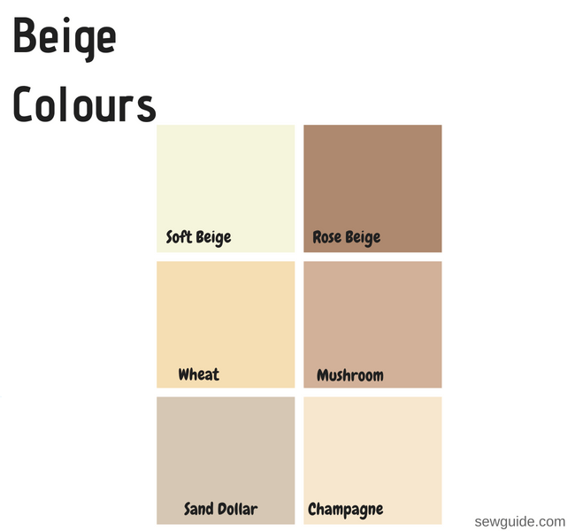 colour names of fashion