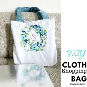 sew shopping bag