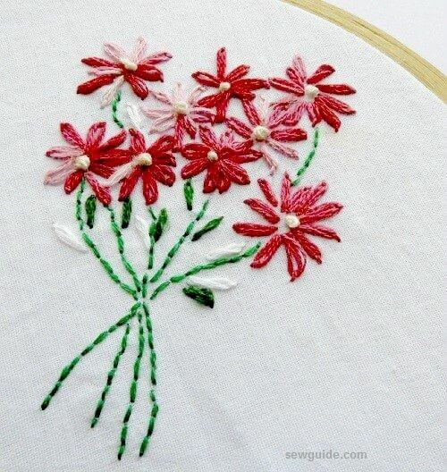 floer embroidery design free