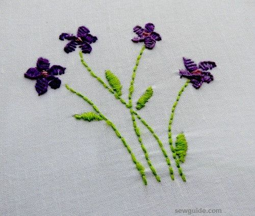 10 Super Easy Flower Embroidery Designs Sew Guide,Unique Modern Sofa Set Designs For Living Room