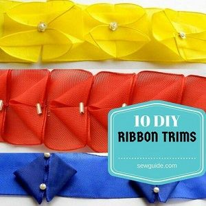 diy ribbon trims