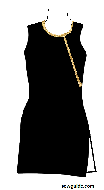 suit neckline designs