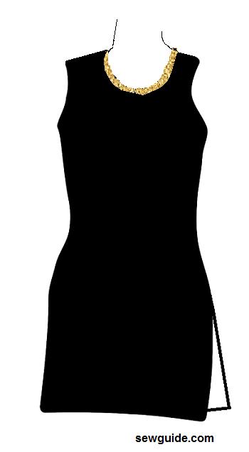 suit neckline types