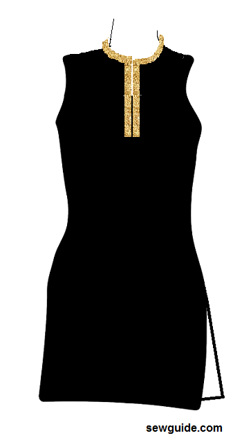 suit necklines