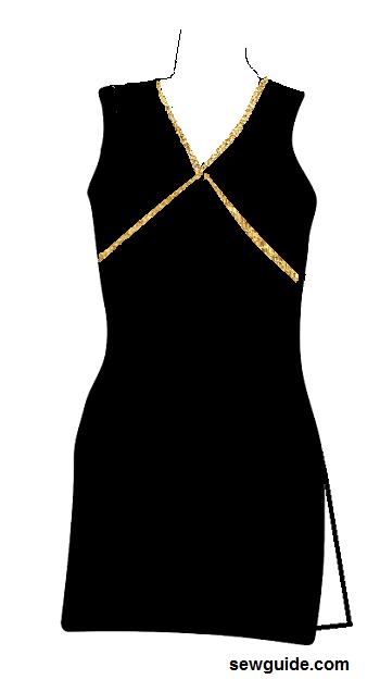 punjabi suit neck design