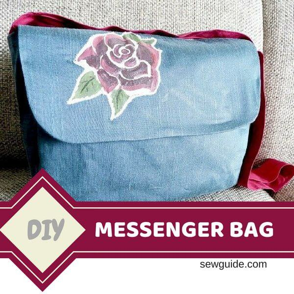 Messenger bag pattern & sewing tutorial - Sew Guide