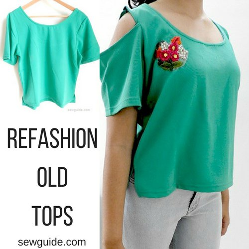 refashion tees