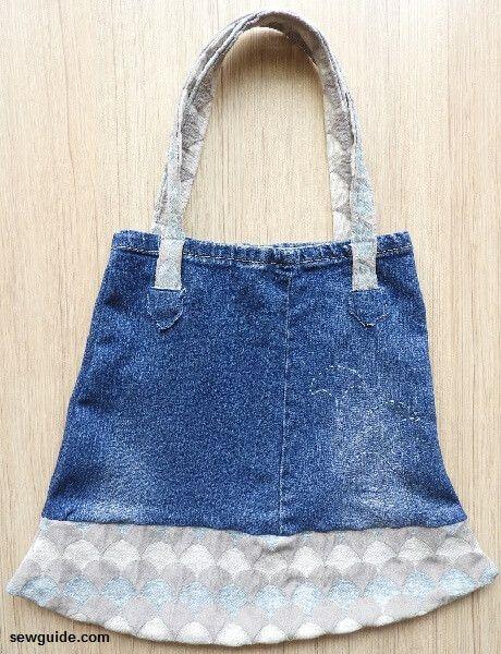jean bag pattern