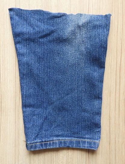 old jeans bag